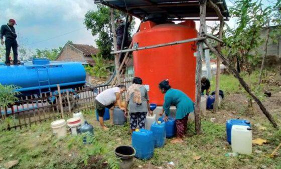 Pamsimas Gagal, Warga Tiga Desa di Sragen Alami Krisis Air Bersih