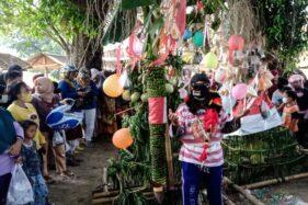 Kirab Meriahkan Pasar Kuliner Tradisional di Kampung Turi Sragen