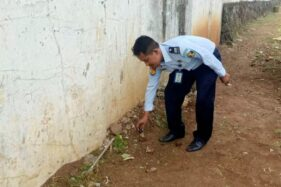 Lagi! Petugas Temukan Narkoba dilempar dari Luar Tembok Lapas Semarang