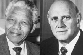 Sejarah Hari Ini : 15 Oktober 1993, Nobel Perdamaian Mandela & De Klerk