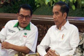 Isu Reshuffle Kabinet Mencuat, Masihkah Moeldoko menjadi Teman Jokowi?
