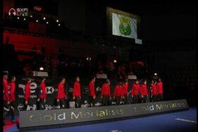 Selamati Piala Thomas, Jokowi Disinggung Soal Sanksi WADA