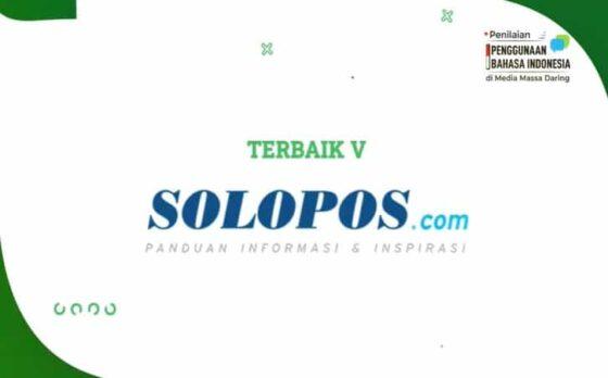 Solopos.com Peringkat 5 Media Online Berbahasa Indonesia Terbaik
