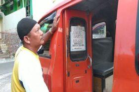 Sopir Angkot di Semarang Gratiskan Penumpang, Alasannya Bikin Mewek