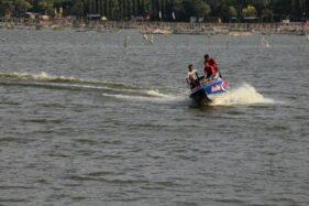 Speed Boat di Objek Wisata Rawa Jombor Klaten Ditambah, Gayeng Oi!