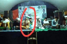 Ngaku Wali, Ustaz di Sukabumi Telanjang Dada Saat Istigasah