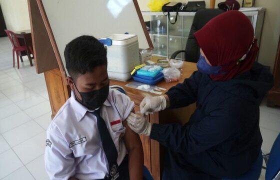 Boyolali Genjot Vaksinasi Pelajar, Berharap PTM Digelar Penuh