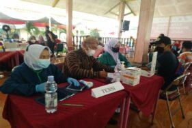 Projo Fasilitasi 1.400 Dosis Vaksinasi di Banyudono Boyolali