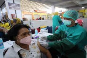 Pemkot Madiun Gelar Vaksinasi Covid-19 di Pasar Besar, Syaratnya WNI