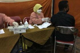 Gerindra Karanganyar Gelar Vaksinasi, Jumlah Peserta Jauh Berkurang
